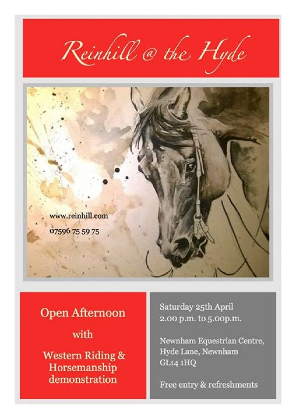 reinhill open afternoon
